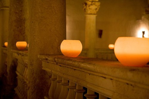Velas para decoraciones de bodas