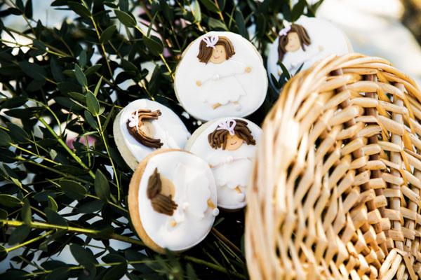 galletas comunión laurel catering
