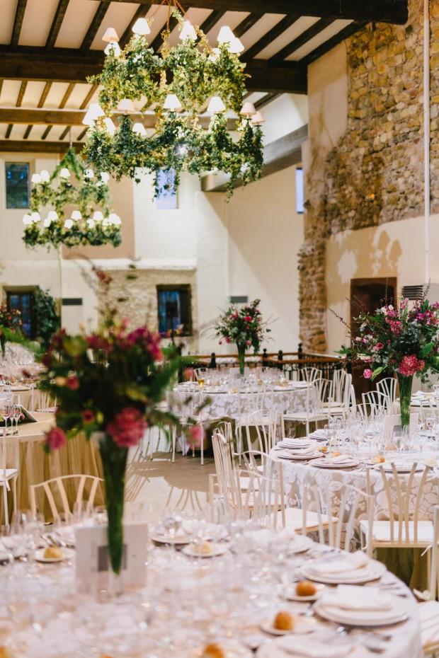 mesas boda laurel catering casa de oficios