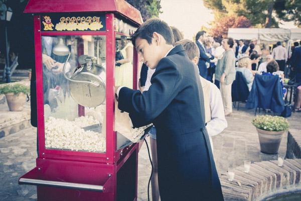 palomitero laurel catering bodas