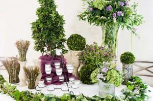 Decoraciones para bodas, originales adornos florales