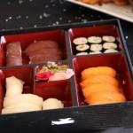 Sushi, una apuesta segura para el cocktail de bienvenida.
