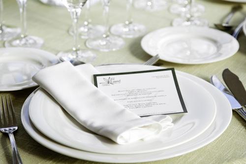 menu para una boda