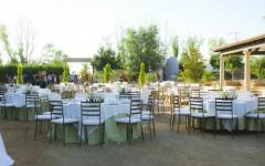 Montaje de mesas boda tomelloso