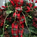 Decoración para eventos de Navidad.