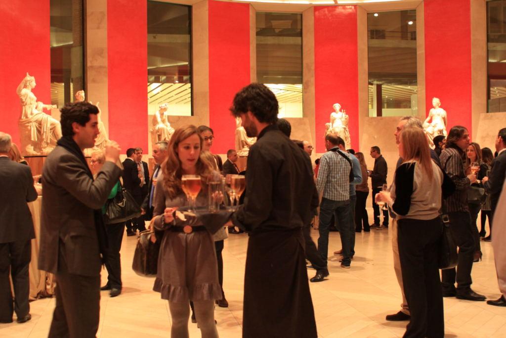 evento del museo del prado del laurel catering