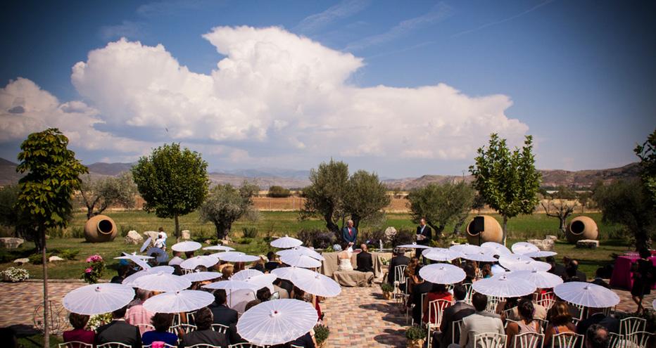 La importancia del tiempo en una boda al aire libre