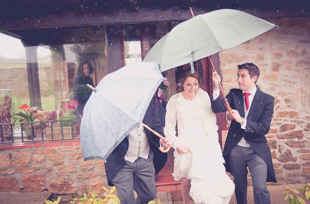 La importancia del tiempo bodas al aire libre