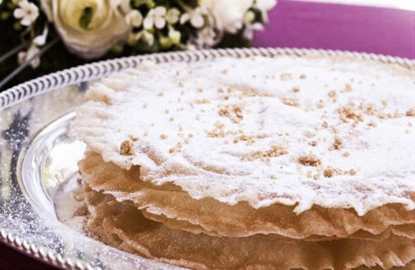 tarta árabe laurel catering