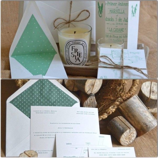 invitaciones de boda sencillas y elegantes
