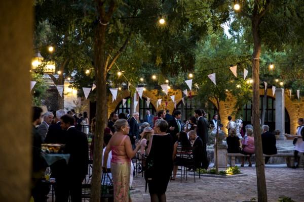 boda de noche laurel