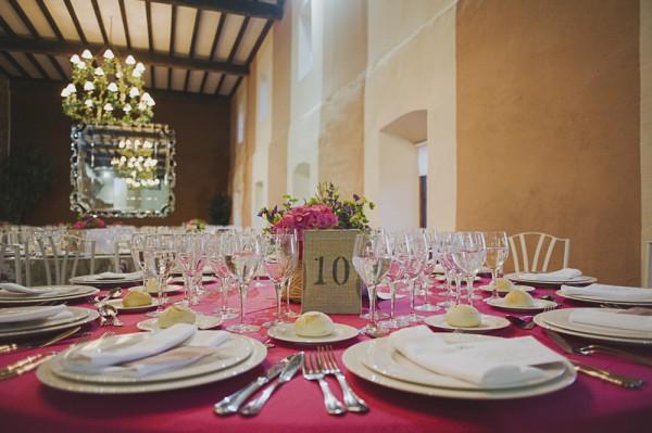 mesa boda laurel catering