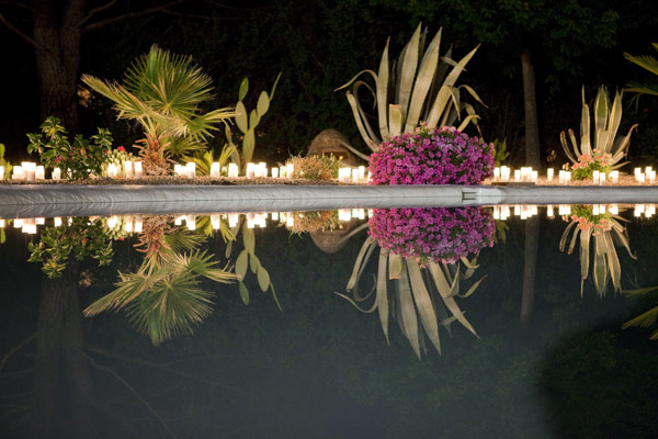 iluminación boda laurel catering lartelier