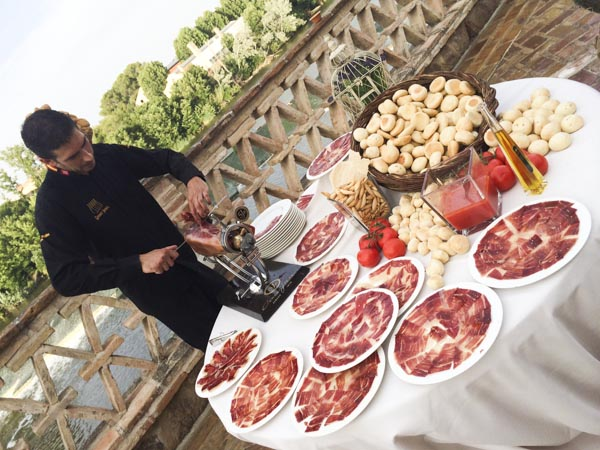 bodegón jamón laurel catering