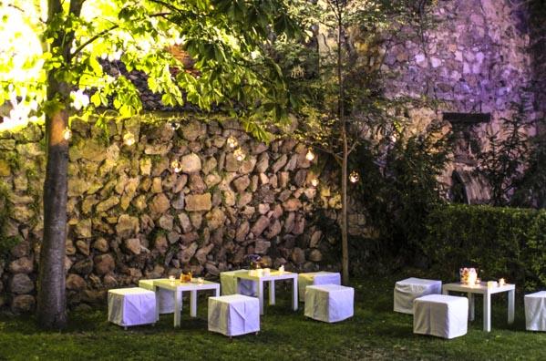 boda jardín laurel catering