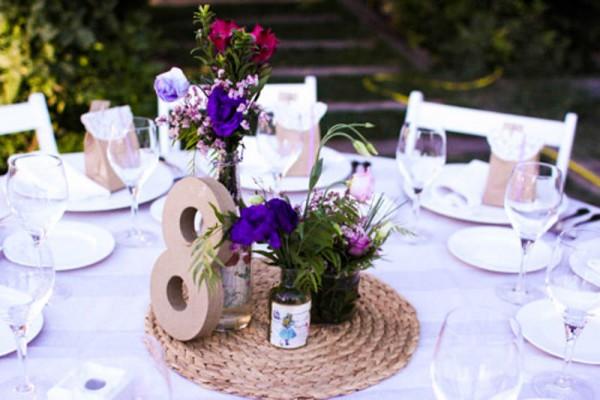 mesero mesa boda