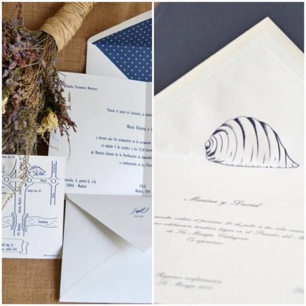 invitaciones de boda silvia gali