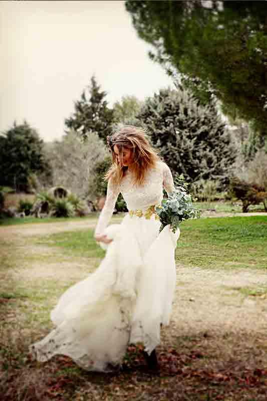 ramos de novia paniculata
