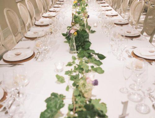 Una boda de inspiración botánica