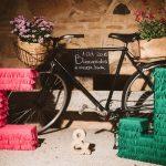 Una boda sobre ruedas como la de Charo y Javier