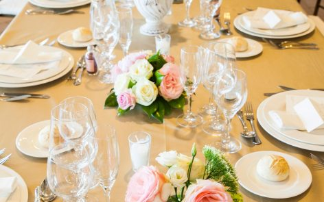 centros de mesa y manteñerías para boda