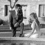 """Crónicas de la boda más """"peligrosa"""" y entrañable"""