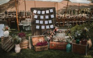 boda de estilo nórdico