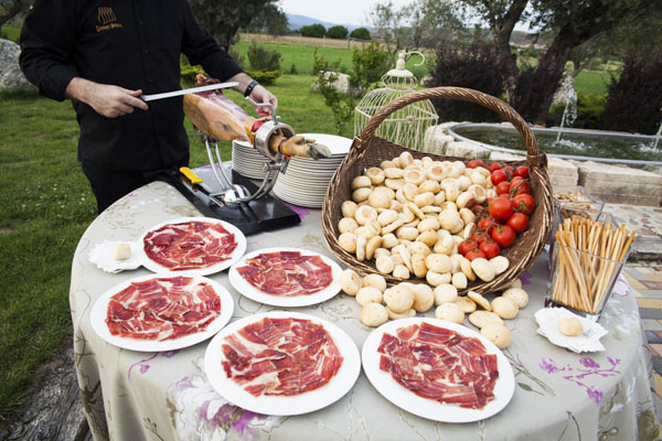 bodegon de jamón laurel catering
