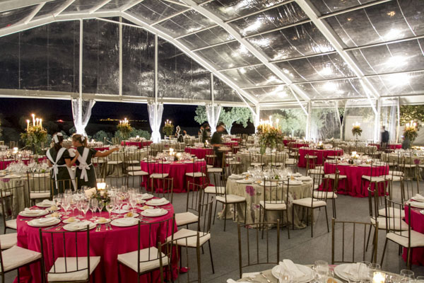 carpa boda en casa laurel catering