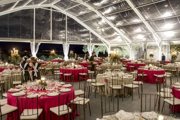 carpa boda en casa laurel catering
