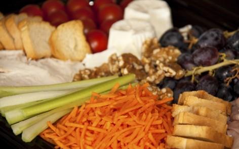 Bandeja ligera laurel catering