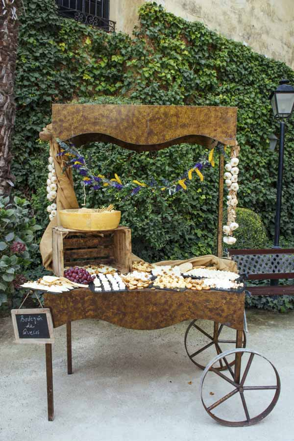 carrito de queso laurel catering