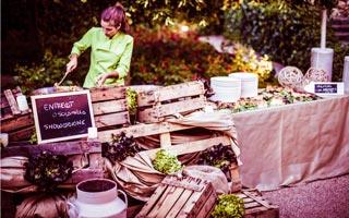 El laurel catering food event design catering para - Bodas con encanto barcelona ...