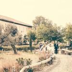 La boda de Cristina y Damián en casa de Oficios.