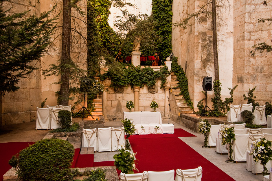 Ceremonia civil Monasterio de Lupiana
