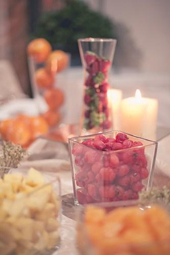 Jarrones de frutas
