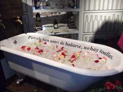 Bañera ginebre Hendrick´s