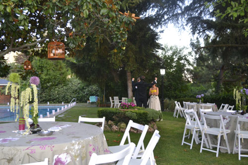 puesta de largo laurel catering