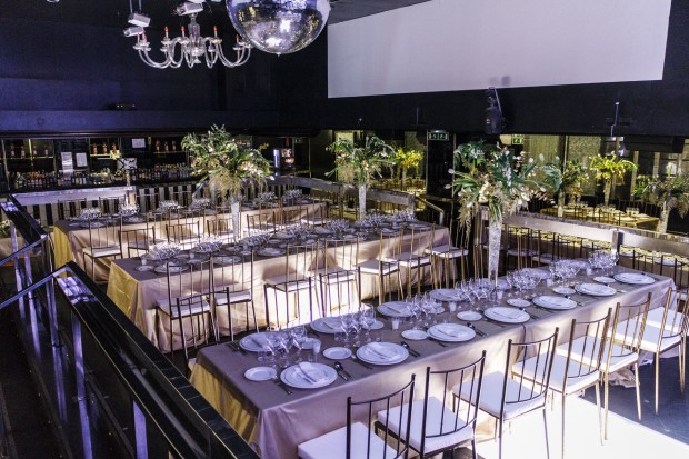 mesas evento alargadas