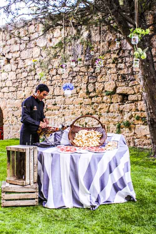 jamonero laurel catering