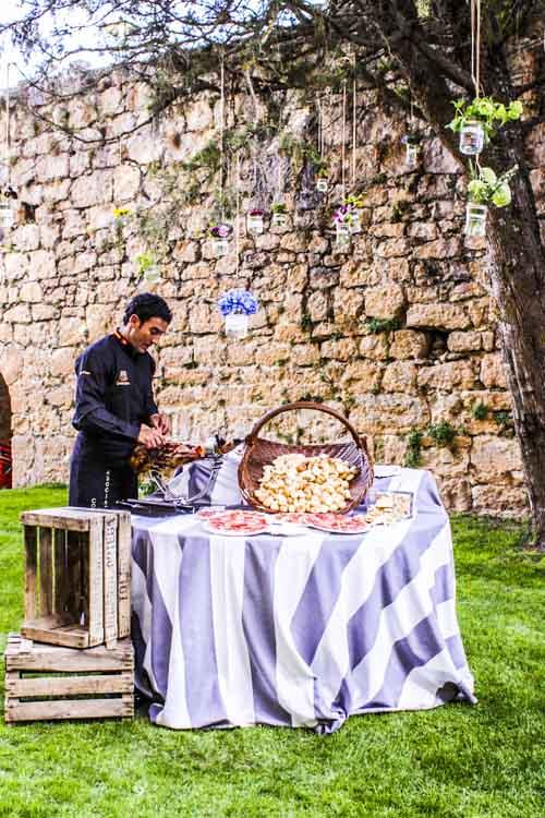 jamonero laurel catering