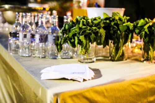 barra de mojitos laurel catering