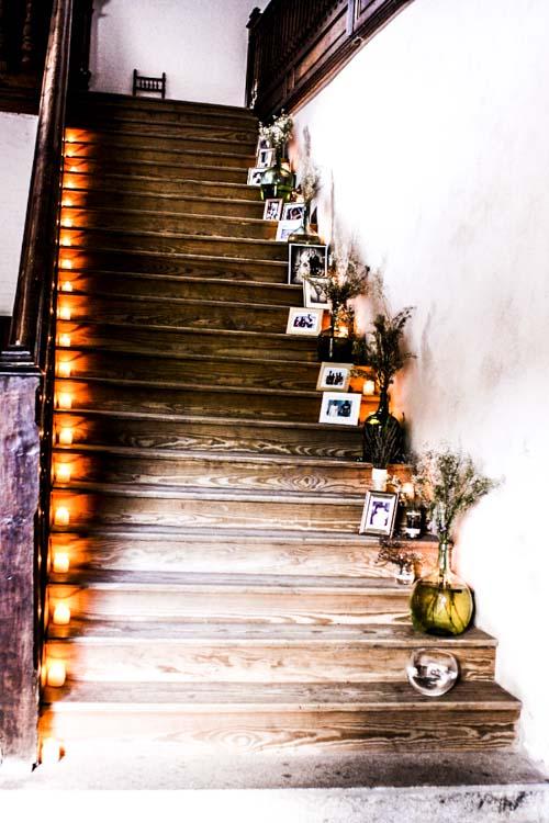 escalera palacio de hoyuyelos