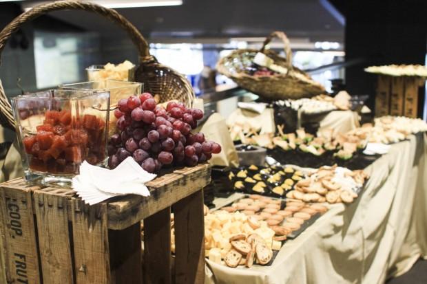 bodegon de quesos y foie laurel catering