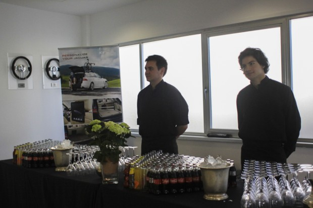 evento laurel catering land rover jaguar