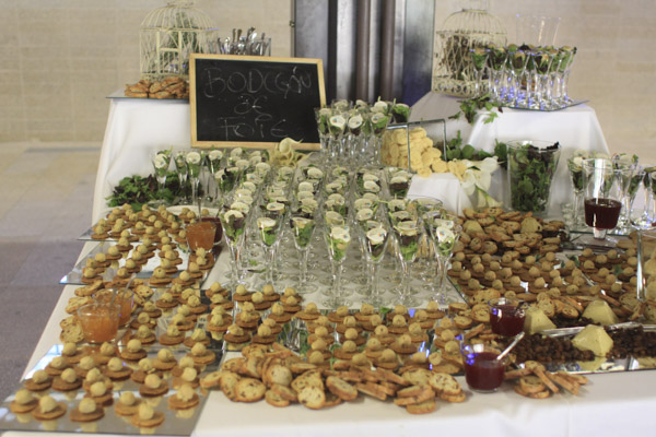 bodegon de foie laurel catering