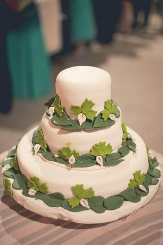 Original tarta de boda decorativa