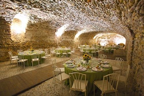 Mi gran boda provenzal el laurel catering food event for Decoracion bodegas particulares