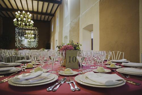 Mesas para boda laurel catering