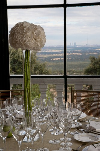 Hortensias un acierto seguro en centros de mesa el - Decoracion con hortensias ...
